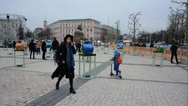 В Киеве наступил туристический бум