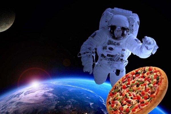 Астронавт NASA смог заказать пиццу из космоса