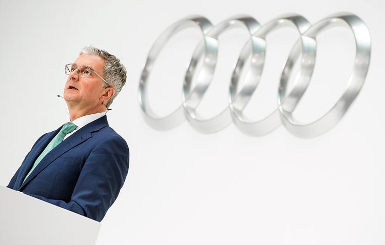 Глава Audi арестован по делу о вредных выбросах