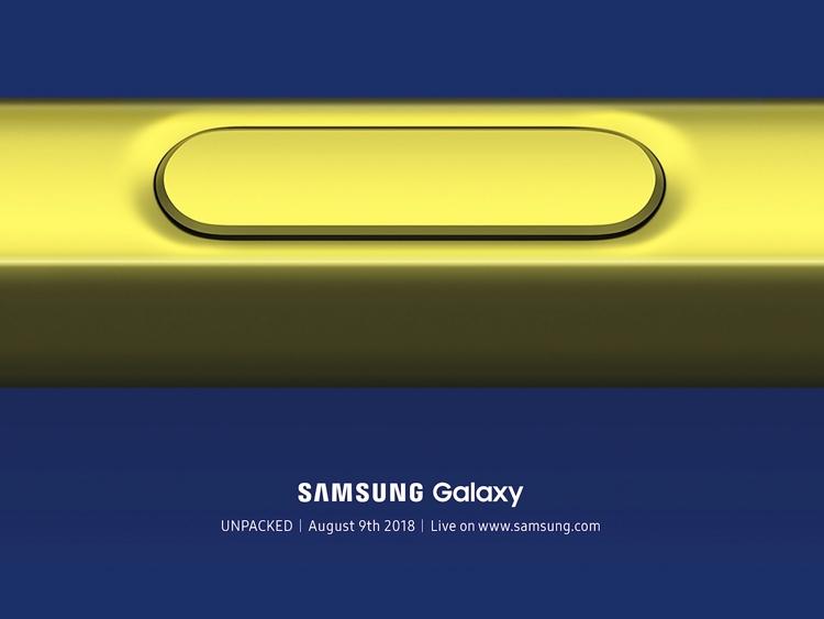 Samsung объявила дату анонса Galaxy Note 9