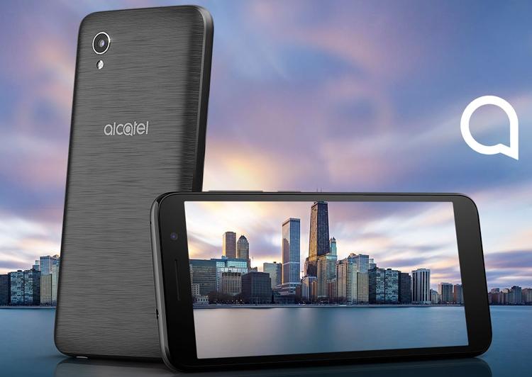 Alcatel 1: смартфон с экраном FullView и «чистой» ОС Android стоит дешевле $90
