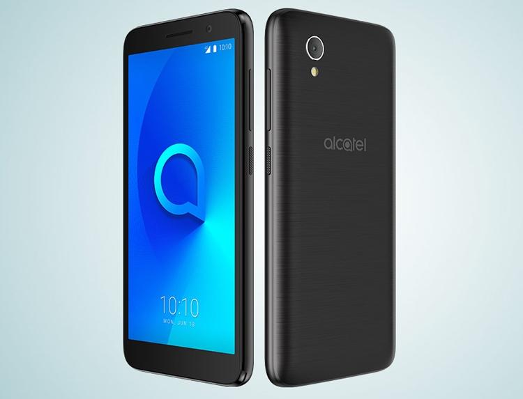 Alcatel 1: смартфон с экраном FullView и «чистой» ОС Android стоит дешевле