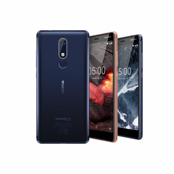 Смартфон Nokia 5.1 представили в Москве