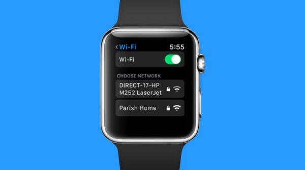 В WatchOS 5 появится функция выбора Wi-Fi-сети