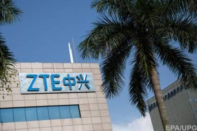 ZTE подешевела на $3 млрд