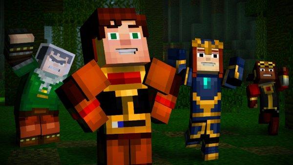 На Netflix появится Minecraft: Story Mode
