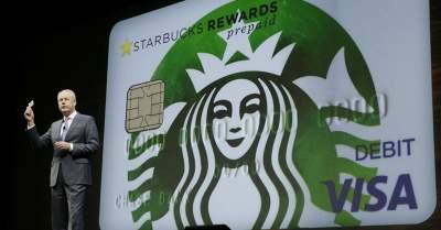 Компания Starbucks выпустила собственную платежную карту