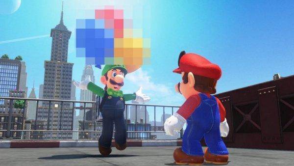 Хакеры взломали Super Mario Odyssey и добавили в нее порно