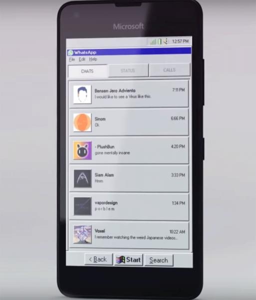 В Сети показали Microsoft Windows 95 Mobile