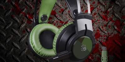 A4Tech представила новые геймерские наушники