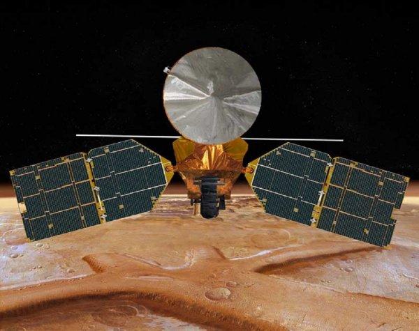 Астрономы: На Марсе произошёл громадный взрыв