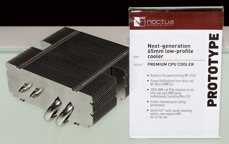 Computex 2018: прототипы новых кулеров Noctua
