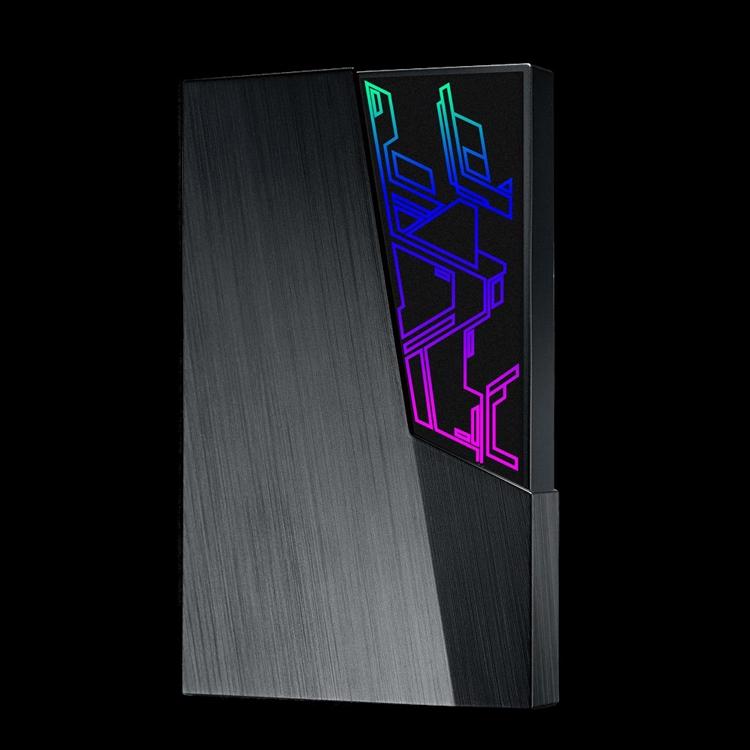 Внешние жёсткие диски ASUS FX снабжены RGB-подсветкой