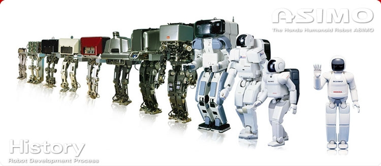 Honda прекращает разработку роботов Asimo