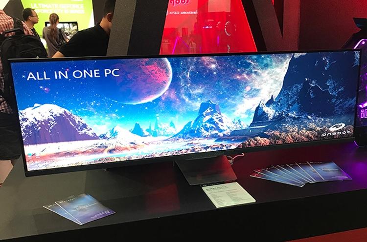 Computex 2018: Colorful наделила моноблочный компьютер 49-дюймовым дисплеем
