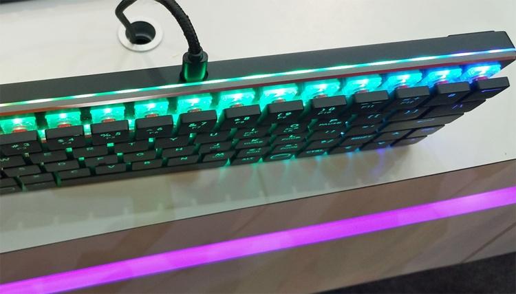 Computex 2018: низкопрофильная механическая клавиатура Cooler Master CK620