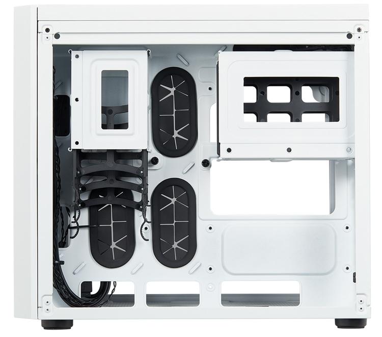 Computex 2018: двухсекционный корпус Corsair Crystal 280X RGB для плат Micro-ATX