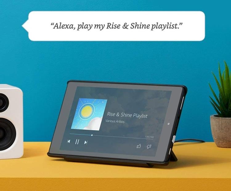 Режим Show Mode превратит планшет Amazon Fire в аналог смарт-динамика Echo Show