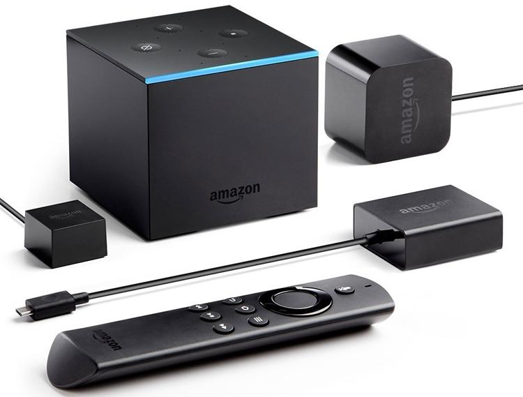 Amazon Fire TV Cube: голосовое управление для домашнего кинотеатра