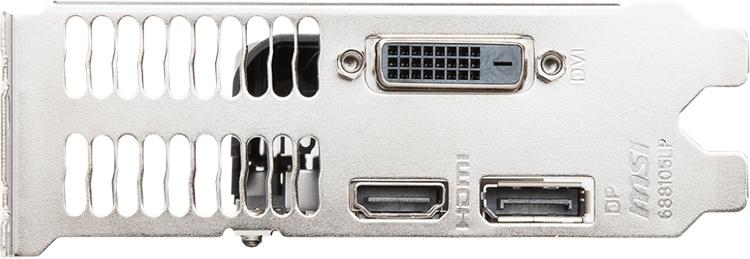 Ускоритель MSI GeForce GTX 1050 3GT LP подходит для компактных систем