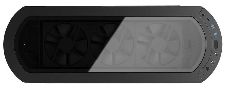 In Win 915: ПК-корпус оригинальной формы с подсветкой