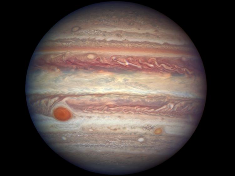 Телескоп «Джеймс Уэбб» изучит Большое красное пятно на Юпитере