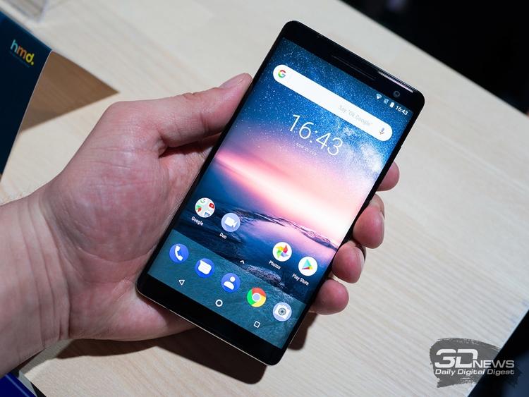 Ряд смартфонов Nokia получат функцию разблокировки по лицу