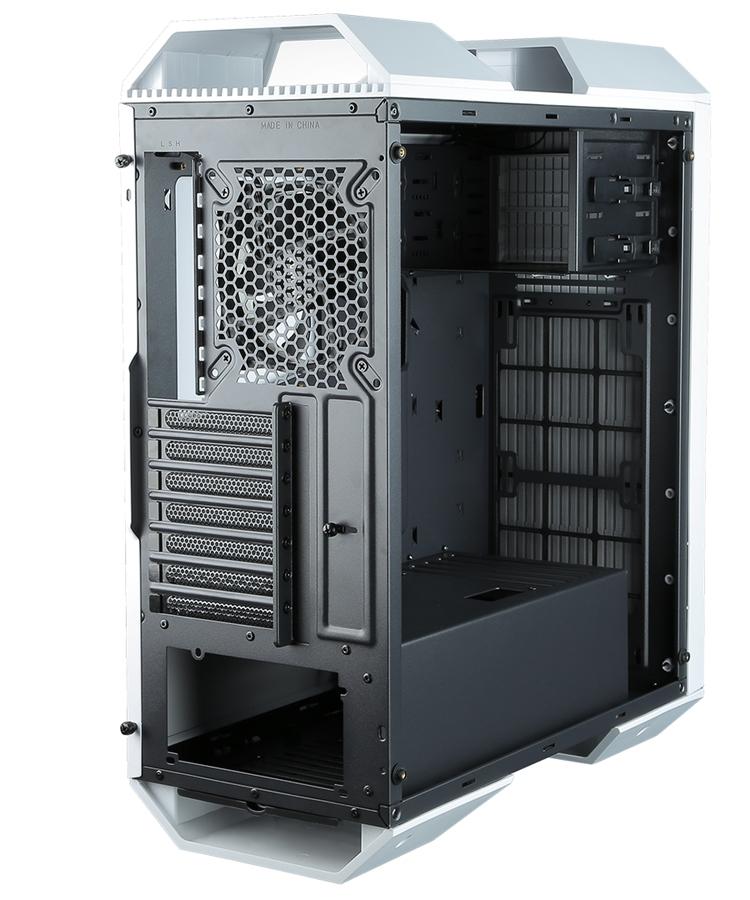 Белый и чёрный: ПК-корпус Raidmax Monster II Prime для игровых систем