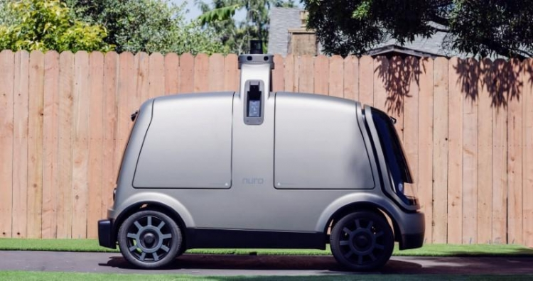 Крупнейшая в США сеть супермаркетов Kroger протестирует доставку продуктов робомобилем Nuro R1