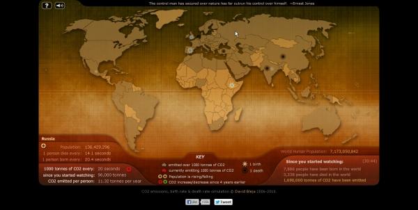 Занимательная картография: дюжина необычных карт