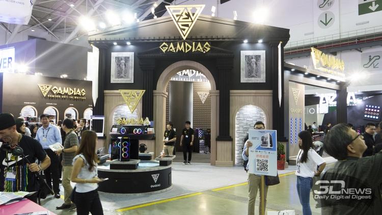 Computex 2018: геймерские комплектующие и периферия GAMDIAS