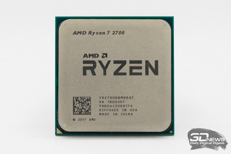 Новая статья: Обзор процессора Ryzen 7 2700: восемь ядер за 0