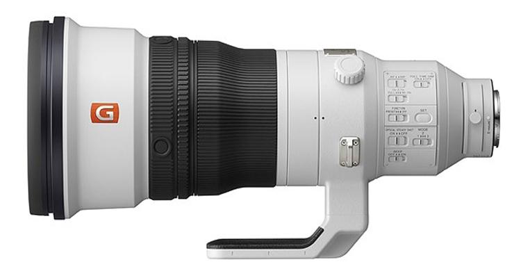 Супертелефото-объектив Sony FE 400mm F2.8 GM OSS оценён в $12 000