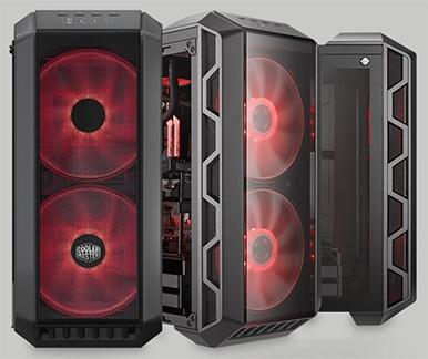 Cooler Master MasterCase H500: Mid-Tower с размахом