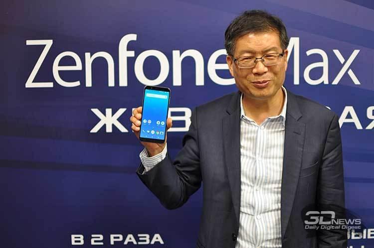 ASUS ZenFone Max Pro (M1) с мощным аккумулятором поступил в продажу в России