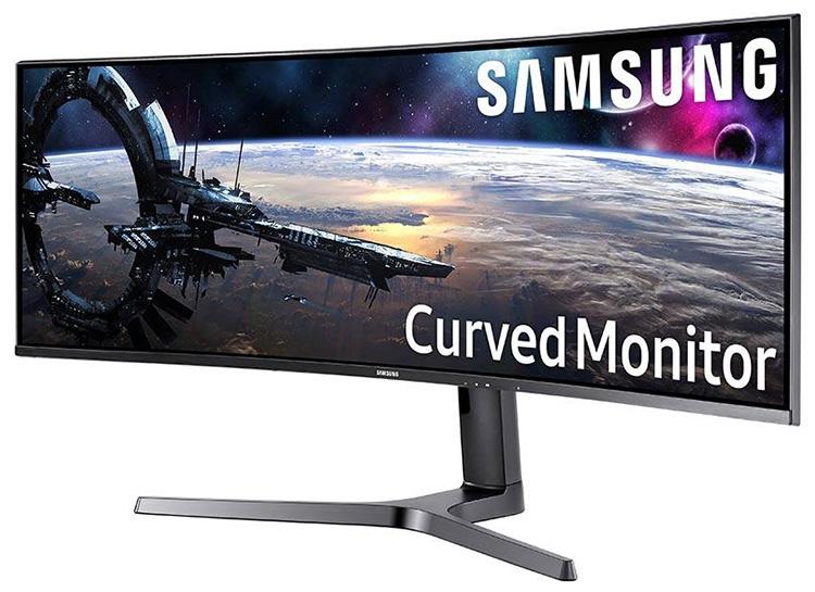 Монитор Samsung C43J89 использует матрицу 32:10