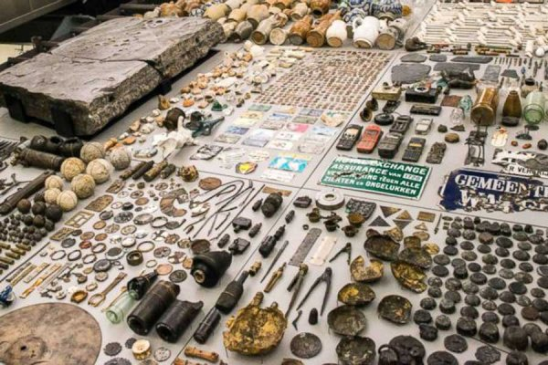 В Амстердаме копали метро, а обнаружили 700 тысяч исторических находок