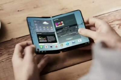 Гибкий смартфон Samsung Galaxy X могут представить в январе