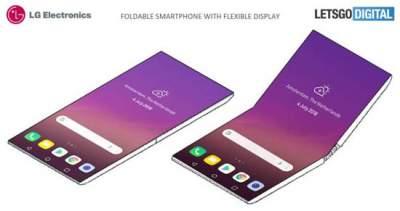 LG готовит к выпуску новый складной смартфон