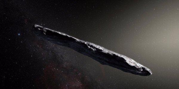 Очевидцы из Англии сняли на видео огромный сигарообразный НЛО