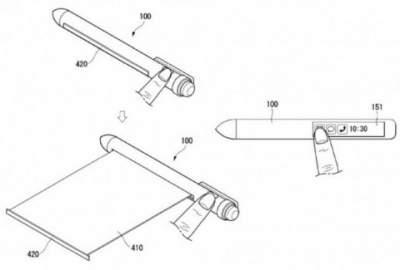 LG получила патент на уникальный смартфон