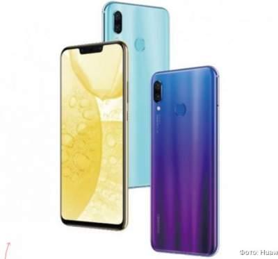 Huawei представила смартфон Nova 3
