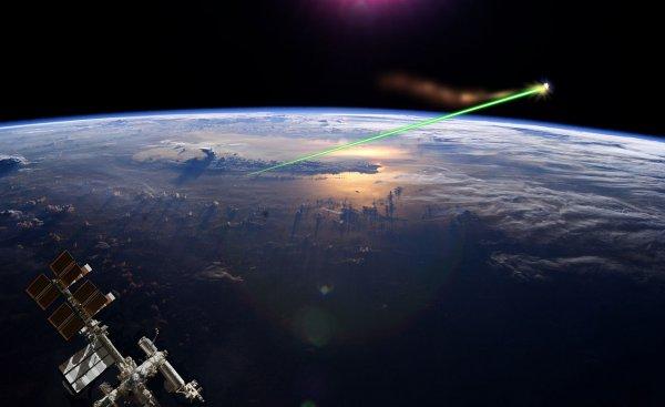NASA заявило об успешной лазерной стрельбе в космосе