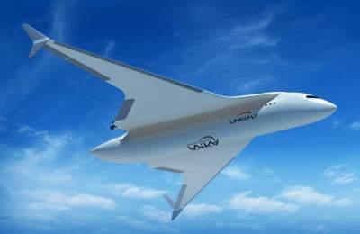 Во Франции придумали превращающийся впоезд самолет