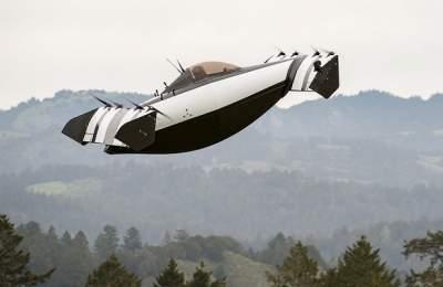 В США показали пассажирский мультикоптер