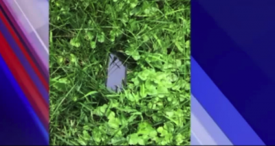 iPhone выдержал падение с самолета