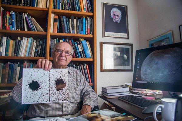 Учёные обнародовали снимок, который помог открыть самый большой спутник Плутона