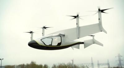Компания Rolls-Royce представила собственный концепт летающего такси
