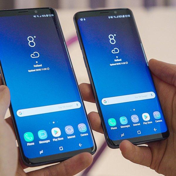 Samsung представила обновлённое ПО для флагманов Galaxy S9 и Galaxy S9+