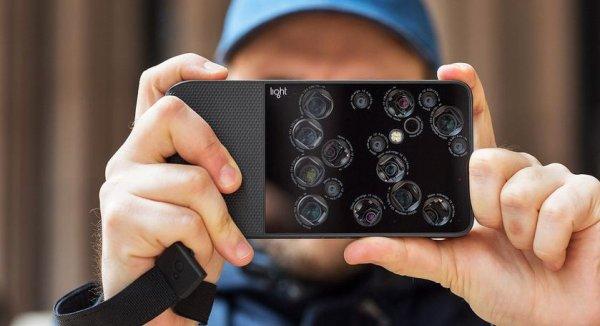 Light планирует создать смартфон с девятью камерами